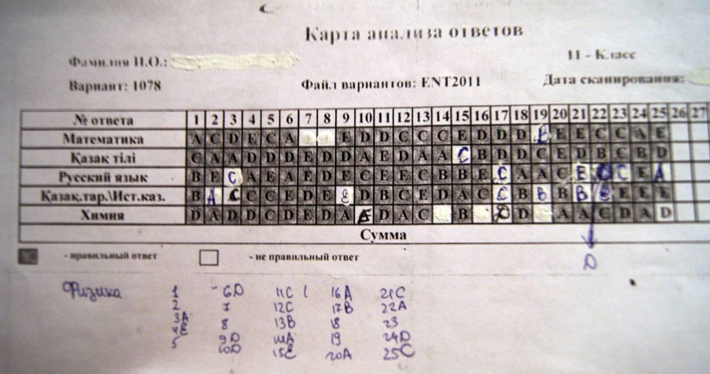 ответы на ент 2011 вариант 1075 1085